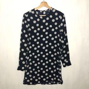 Equipment Femme Owen Daisy Spots Silk Mini Dress